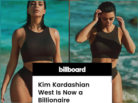 Reactions As Kim Kardashian Shares Lovely Pictures Online After Officially Becoming A Billionaire