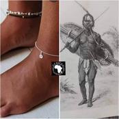 Les chaînes aux pieds et autres parures: découvrez leur origine