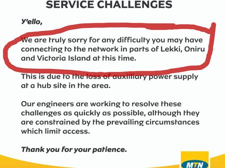 Hours After Lekki Shooting, See What MTN Posted On Twitter That Looks Suspicious