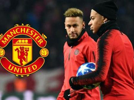 Man United Keen to Sign Neymar, Mbappe And 2 Other Players