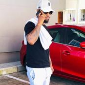 SK Khoza left fans gushing over his good looks on a current post.