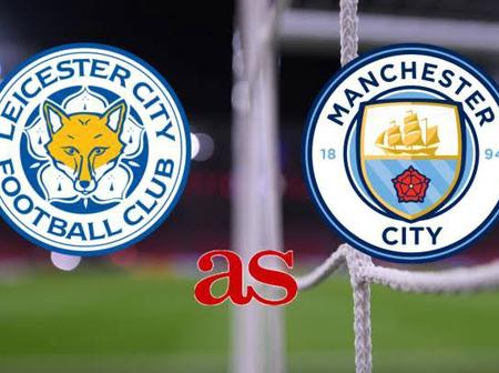EPL: Pre-match and Post-match stat of Leicester City vs Man City's game