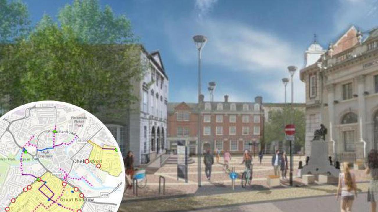 Chelmford residents invited to events on cycling and walking plans