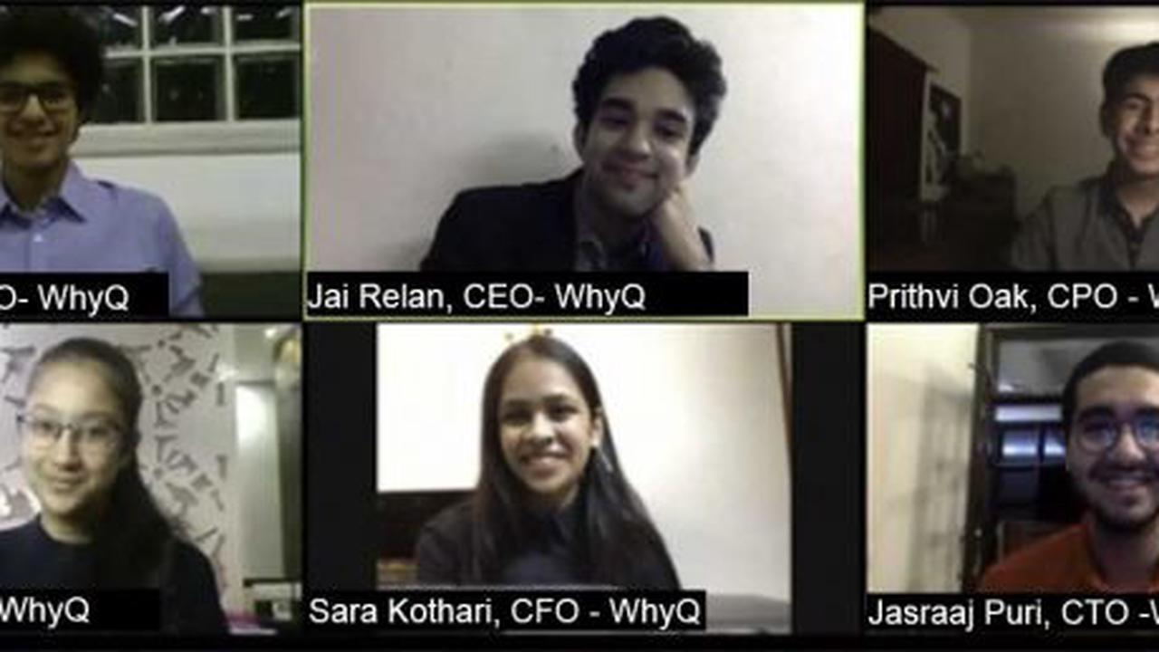 WhyQ: Meet the teens who set up a business