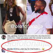 Davido Drags Internet Rapper, NBA Gee Boy In Response