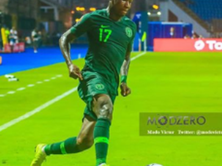 Bordeaux Confirmed Samuel Suffered A Hamstring Injury On Super Eagles Duty
