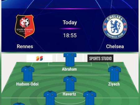 Havertz And Silva In, Pulisic Out, Early Chelsea Team News And Likely Line-ups To Face Rennes