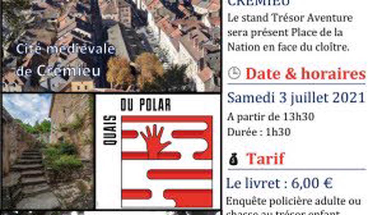 Enquête policière sous forme de chasse au trésor à Crémieu : Balade, visite guidée à Crémieu