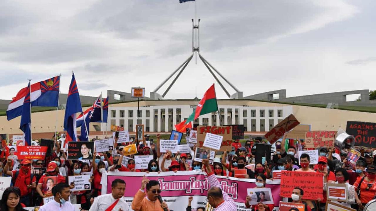 Thousands of Myanmar citizens in Australia at risk of being deported to violence back home