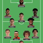 This is Arsenal's strongest lineup that should start against Leicester City today