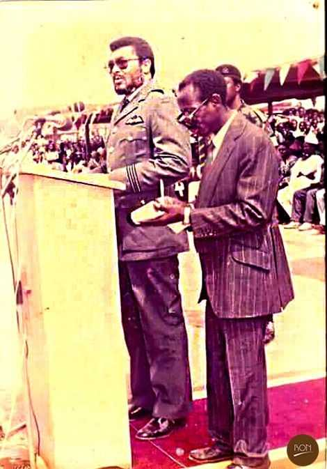 """da18c746b7d78913507d1112d4154ce9?quality=uhq&resize=720 - """"Photo Of The Day"""": 90s Photo Of JJ Rawlings And 'Alleged' Asiedu Nketiah Will Make Your Day"""