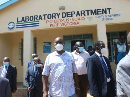 Governor Commissions Modern Lab At Port Victoria Sub County Hospital