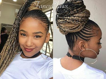 100+ Ghana Braids Hairstyles   2020 Ghana Braids Hairstyle Trends