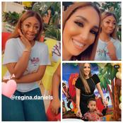 Poverty Is Bad: See What Regina Daniels, Gave Her Co-wife Son As His Birthday Gift
