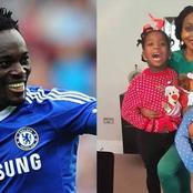 (PHOTOS) Family Photos Of Michael Essien's Beautiful Wife And Children