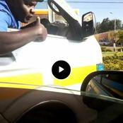 Rogue Matatu Driver On The Spot After Bullying A PSV Motorist In Thika [Video]