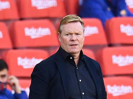 Koeman Announces Squad For El Clasico Game Against Real Madrid