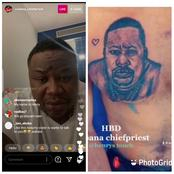 Read What Cubana Chiefpriest Said After The Man Who Tattooed Him Refused To Come Live On Instagram