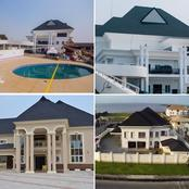 Between these Nigerian Footballers checkout who has the most beautiful house (photo)