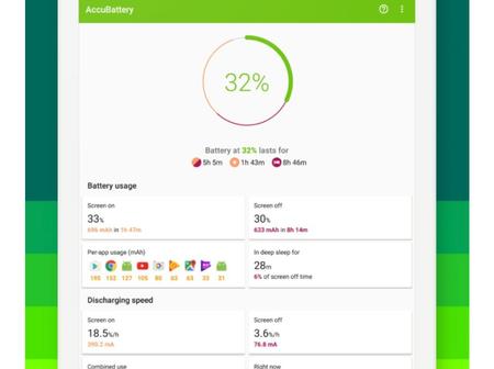 Android : une application pour tout savoir sur votre batterie