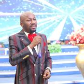 Apostle Suleman prays for heaven to end this institutionalized terrorism and strategic kidnapping