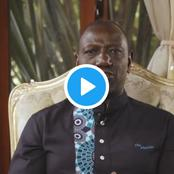 DP Ruto Surprisingly Uses Pure Swahili While Addressing the Nation on Tuesday Morning