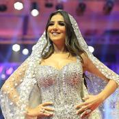شاهد إطلالات الفنانات بفستان الزفاف وأجرئهن مي عمر وسلمي الشيمي..صور