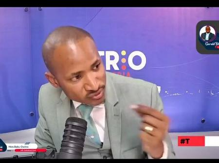 THE TACKLE: MP Oscar Sudi Misses A Talk With Babu Owino And Gloria Hosted By Gerald Bitok