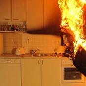 قصة  اشتعل المطبخ وطفلها الرضيع بالداخل.. وأثناء محاولة إنقاذه حدثت كارثة كبرى