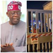 Today's Headline: Rededicate Your Self To Betterment, Tinubu Speaks, Lagos Seals Carabana Night Club