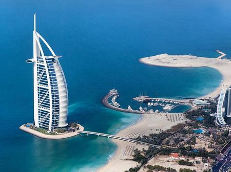 See Beautiful Pictures Of The Only 7 Star Hotel In The World Located In Dubai