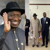 Take A Look At What Goodluck Jonathan did in Port Harcourt Today (Photos)