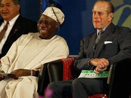 Throwback Photos Of Prince Philip, Queen Elizabeth, Obasanjo, Buhari & Traditional Kings In Nigeria