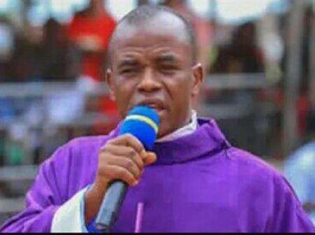 Fr Mbaka Explains Why His Security Men Assaulted BBC reporters, See His Reasons