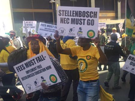 """ANC Must Fall"". South Africans Send Sh0ck Warning To Ramaphosa After Meeting With NEC"