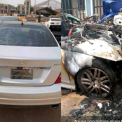 Alleged Kidnappers Burnt Down The Car Of A Young Man In Delta State