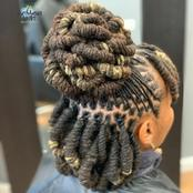 Don't Be Boring With Your Dreads, Here Are Stylish And Beautiful Ways To Style Your Locs.