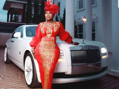 5 Unseen Pictures Of Queen Ciara, The Wife Of Rev Oboufour