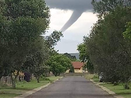 A Tornado In Mpumalanga Yesterday, Tweeps Are Wondering If Bushiri Has Cursed The Country.