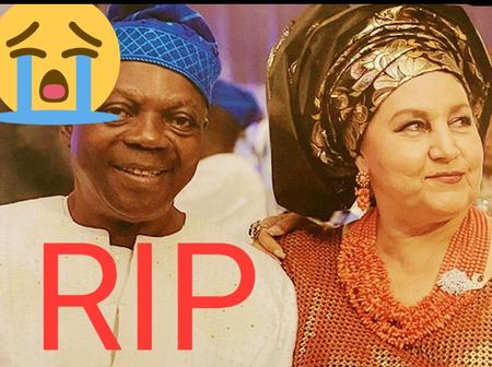See Photos Of Beautiful Wife Peter Okoye's Father-In-Law Left Behind
