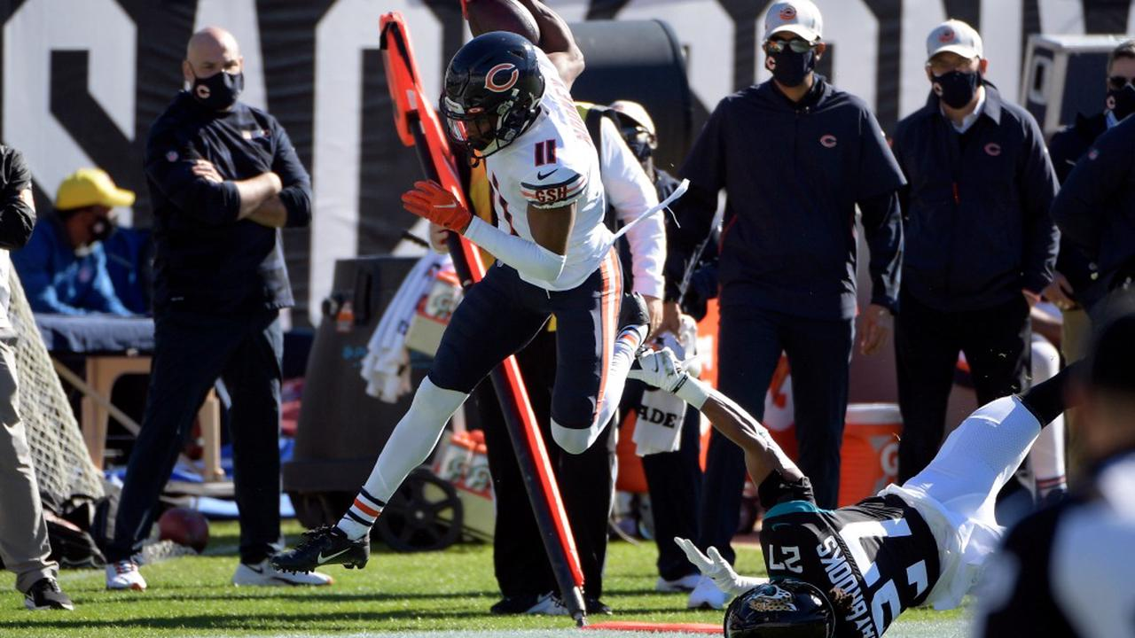 WATCH: Bears WR Darnell Mooney puts in work after first dropped pass of season