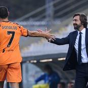 Pirlo assures: 'I treat Ronaldo the same as Portanova and Frabotta'