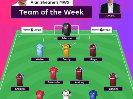 Fantasy Premier League Team Of The Week