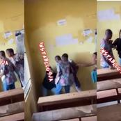 Student Beats Lecturer And Tore His Shirt For Giving Her Examination Malpractice Form