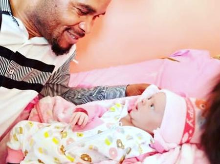 """""""Congratulations To The Lion"""" - Obi Cubana React As Odumeje Welcome New Baby."""