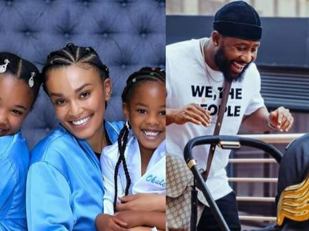 In Pics| South African Celebs And Their Kids, The Last Picture Will Leave You In Tears
