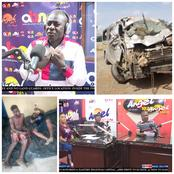 Angel Fm: The President Must Reward the Trotro Driver, Who Used His Car To Crash The Armed Robbers.
