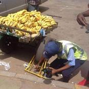 'How can a qualified police clamp a banana cart ? - OPINION