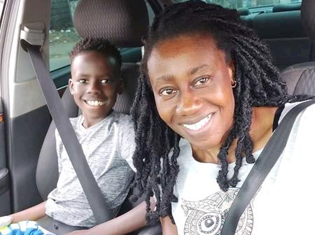 Latest Glowing Photos of Wilbroda the Radio Queen with Her Handsome Son