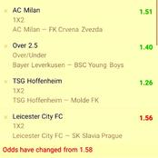 Stake on These VIP Multibets With 310.53 odds To Secure Huge Earning Tonight